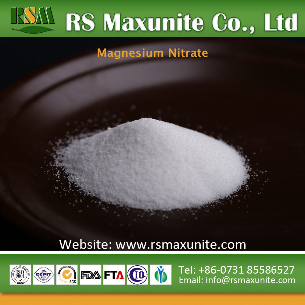 professional production magnesium price Hexahydrate sale Magnesium Nitrate
