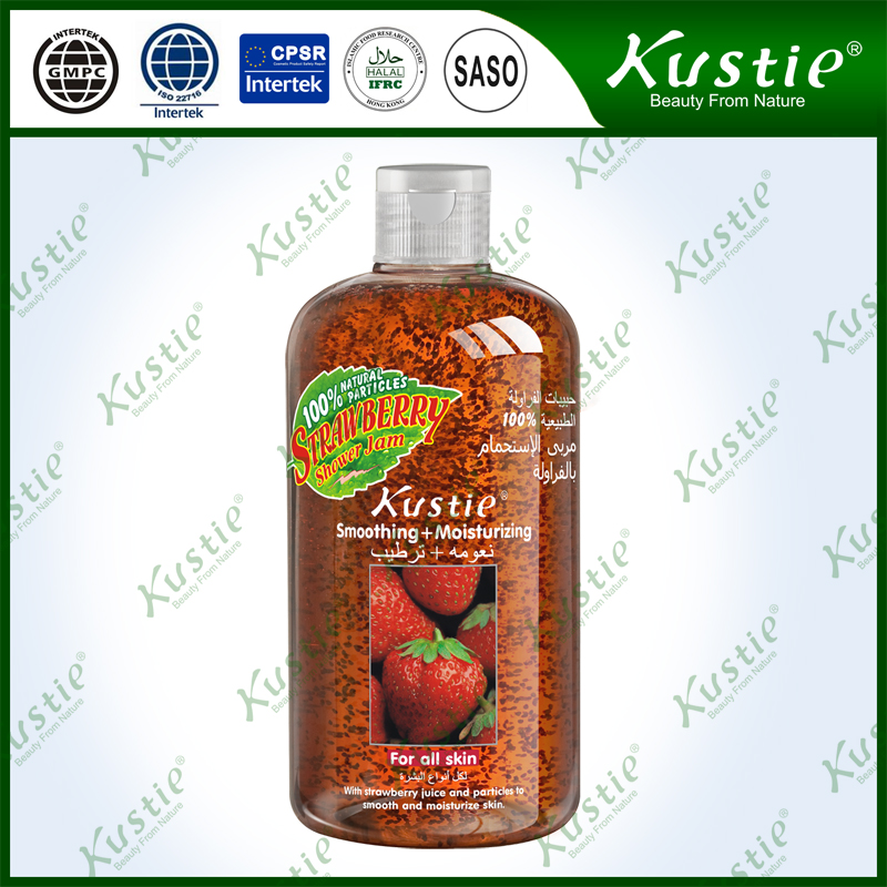 Fruity Shower Gel Softening And Silky Smooth Strawberry Shower Cream With Long-lasting Perfume