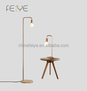 Floor Lamp Decor Modern Wooden Base Design Floor Lamp