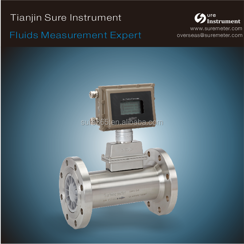 Pressure Compensation Type natural gas flow meter