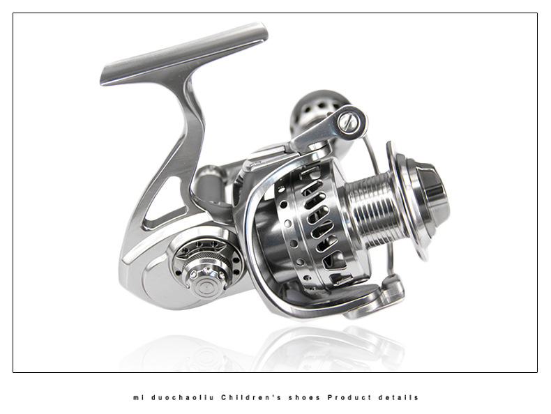 Peche 11 + 1BB Full Metal Körper Spinning Reel 4000 CNC Jigging Angeln Rollen