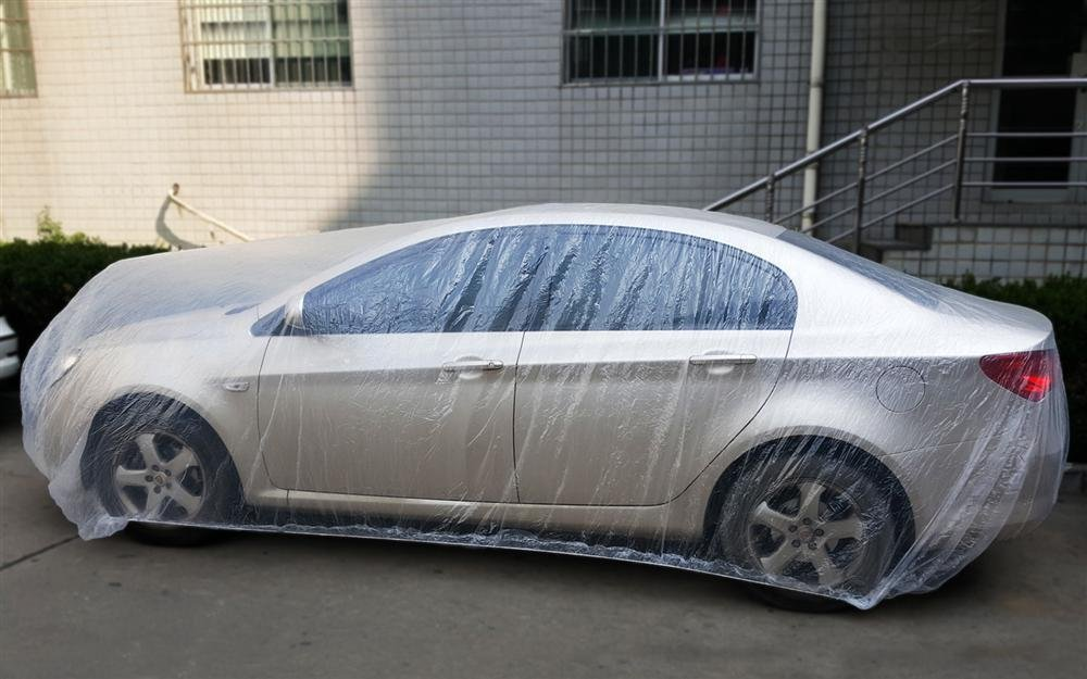 Disposable Plastic Car Cover At Good Price