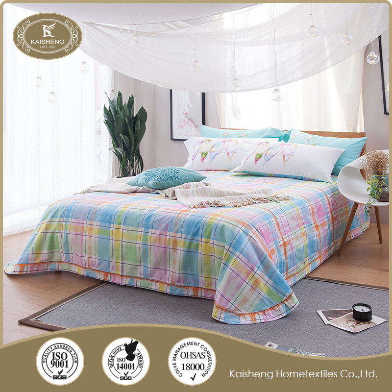Different Models of bed linen with pillow