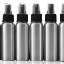 2-Ounce Aluminium Fijne Nevel Spray Flessen (6-Pack); Mini Metalen Verstuiver Flessen, 2.75 oz <span class=keywords><strong>Reizen</strong></span>/Portemonnee/Sample Size