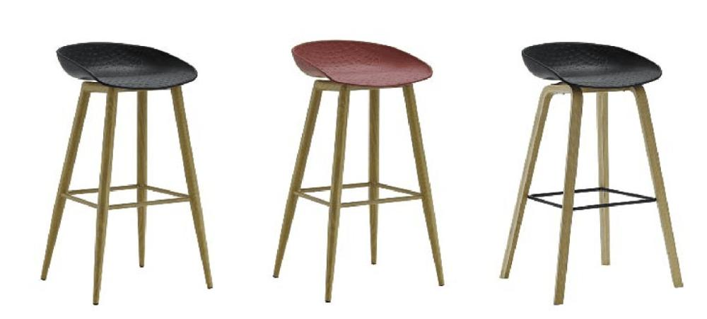 4 Legged Bar Chair Furniture Dining Stool High