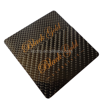 Fashion Best Selling 100% Real Carbon Fiber Business Cards
