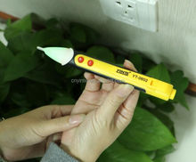 LED torch functio Non-Contact Voltage Tester voltage alert pen with light
