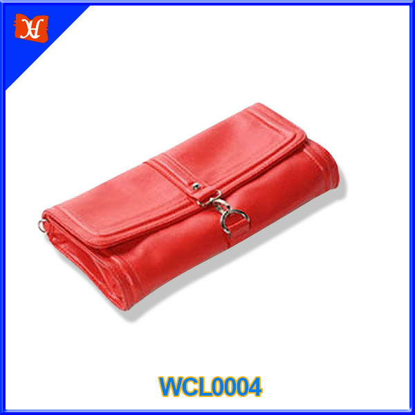 Latest PU evening clutch handbag,soft handfeel evening clutch bag with PU shoulder strap for women,many colors PU bag;