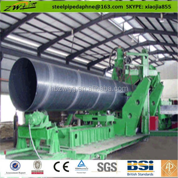 API 5L GrA B X42-X100 steel pipe diameter 1220mm 12-25mm wall thickness for Oil and natural gas construction