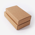 Kraft Paper Boxes For Bow Ties pocket towel Ties Cardboard Pack Boxes 20Pcs Lot Craftwork Gift