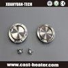 customized casting circle stainless steel hot plate for coffee maker/coffe machine