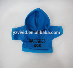 Custom Blue Animal Plush Toy Clothing From Drawing