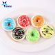 Promotional Gifts Wholesale Mini 5CM Slow Rising Donut Kawaii Squishy Toys Key chain Charm