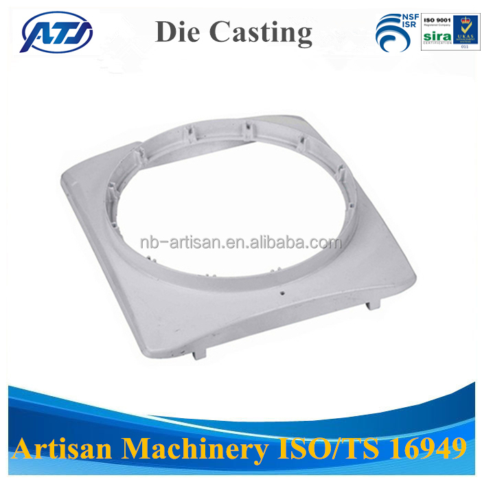 OEM Custom Made Aluminum Die Casting Parts, Traffic Light Housing