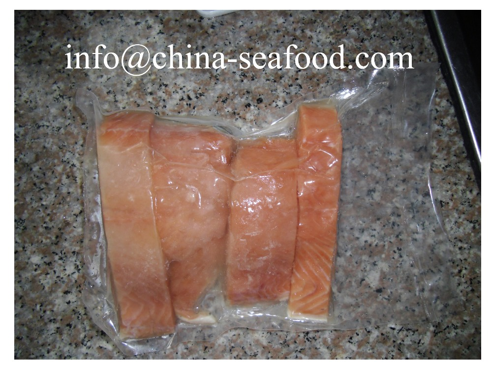 best taste frozen salmon hg chum salmon fish steak 161122