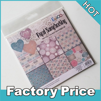 Printing Paper Scrapbook Decoration For Packing Paper Crafts For
