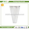 bottom open transparent bouquet wrapping bag used for flower packaing