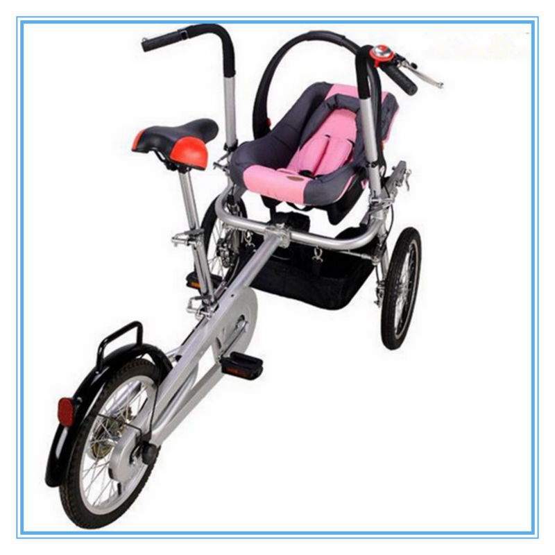 2017 Fashionable Baby Doll Stroller With Car Seat Mother Bike