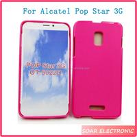TPU Cover For Alcatel Pop Star 3G OT-5022D Silicone Phone Case For Alcatel Pop Star 3G