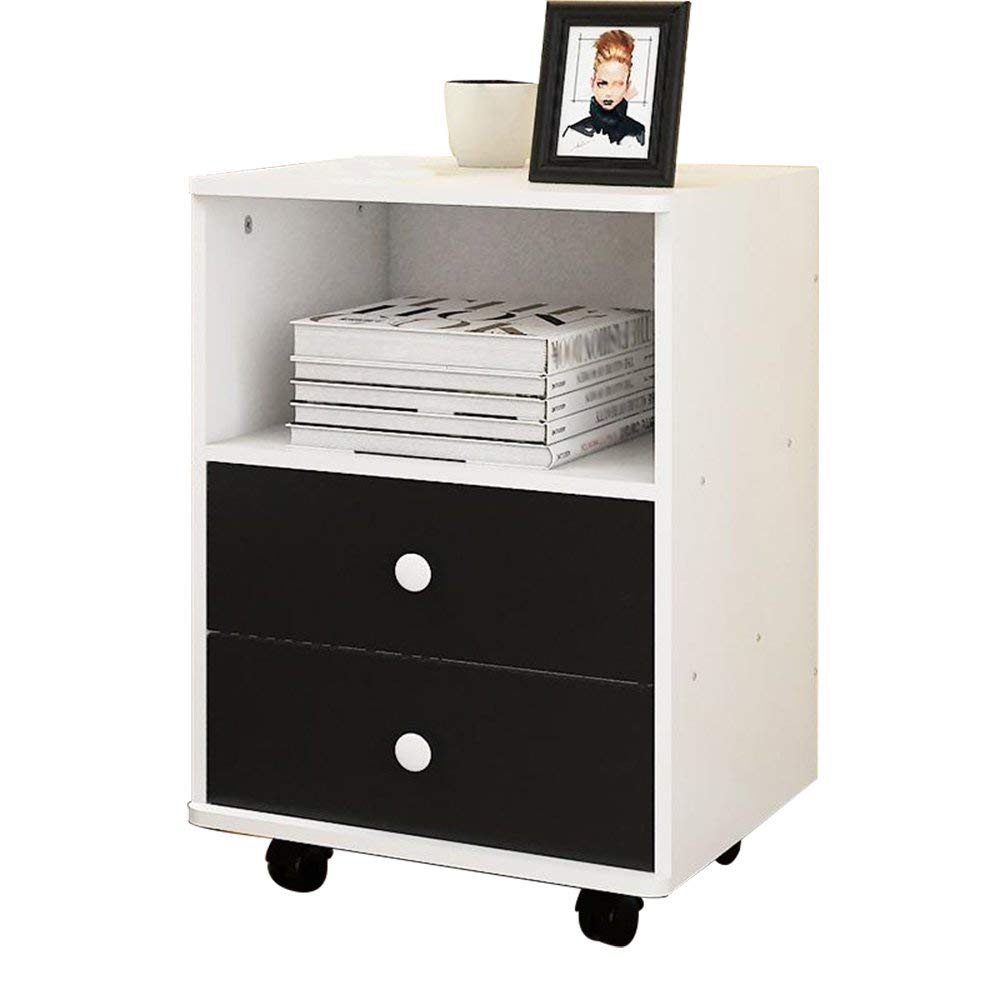 PM-Nightstands Bedside Cabinets Lockers With Drawers Bedroom Lockers Bedside Cabinets (Color : D-384050)