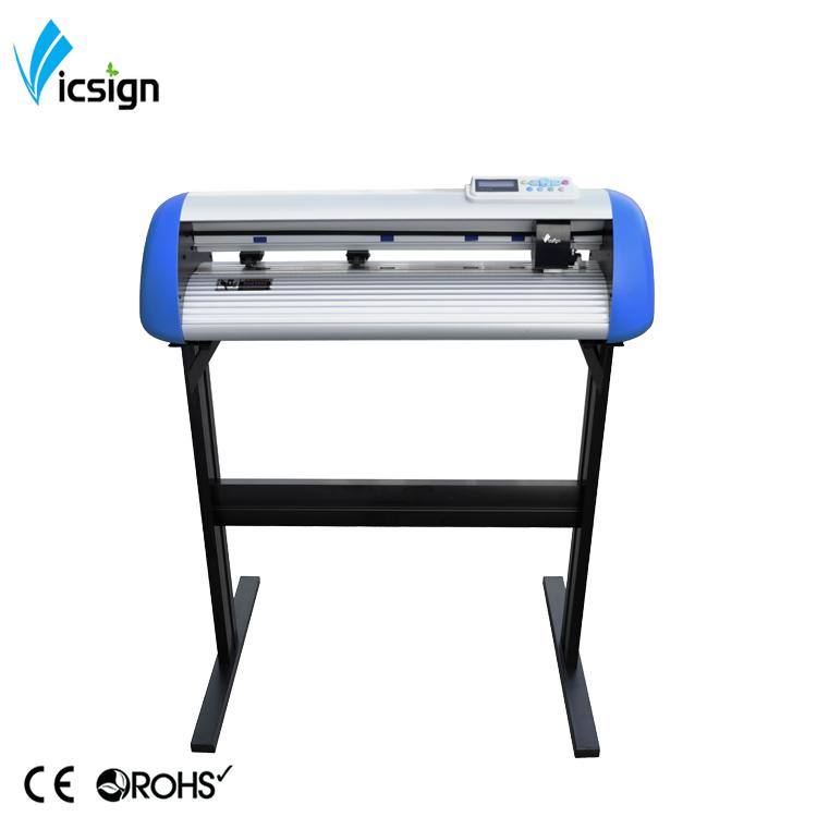Vinyl Cutter machine avec des logiciels de papier cartonné tissu électronique outil de coupe