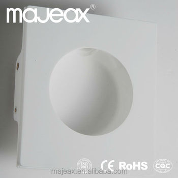 Gypsum Recessed Indoor 12v Led Light Led Wall Projection Light ...
