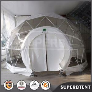 High quality fashion design covers clear plastic outdoor geodesic dome tent