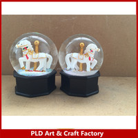 Amusement park Promotional Gift Snow Globe/Amusement park Promotional Water Balls/Amusement park carousel promotional gifts