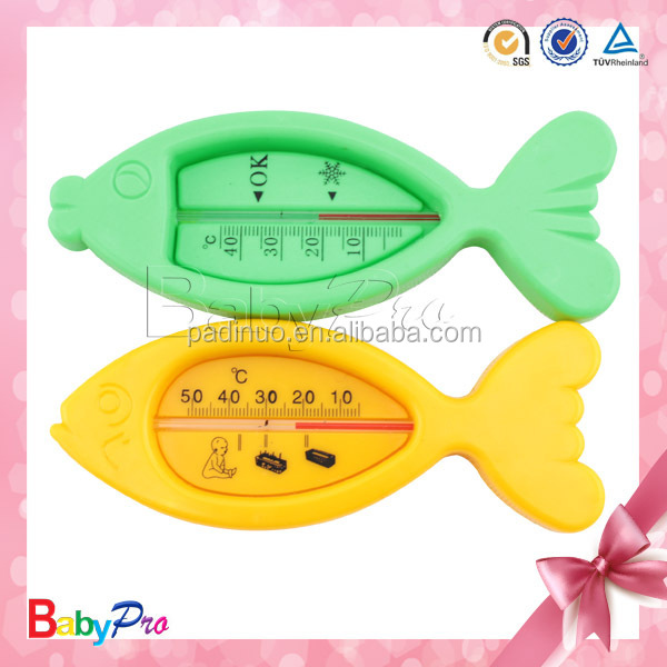 2015 Hot Sale Funny Design Non-Toxic Waterproof Digital Fish Bath Thermometer