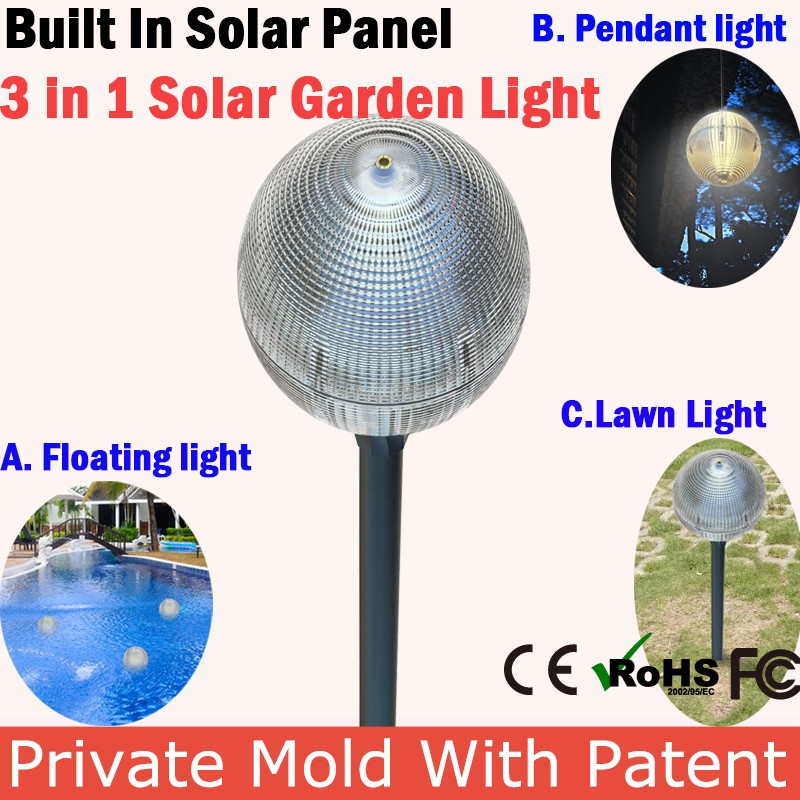 Foldable Emergency Led Outdoor Solar Lighting System For Home Use