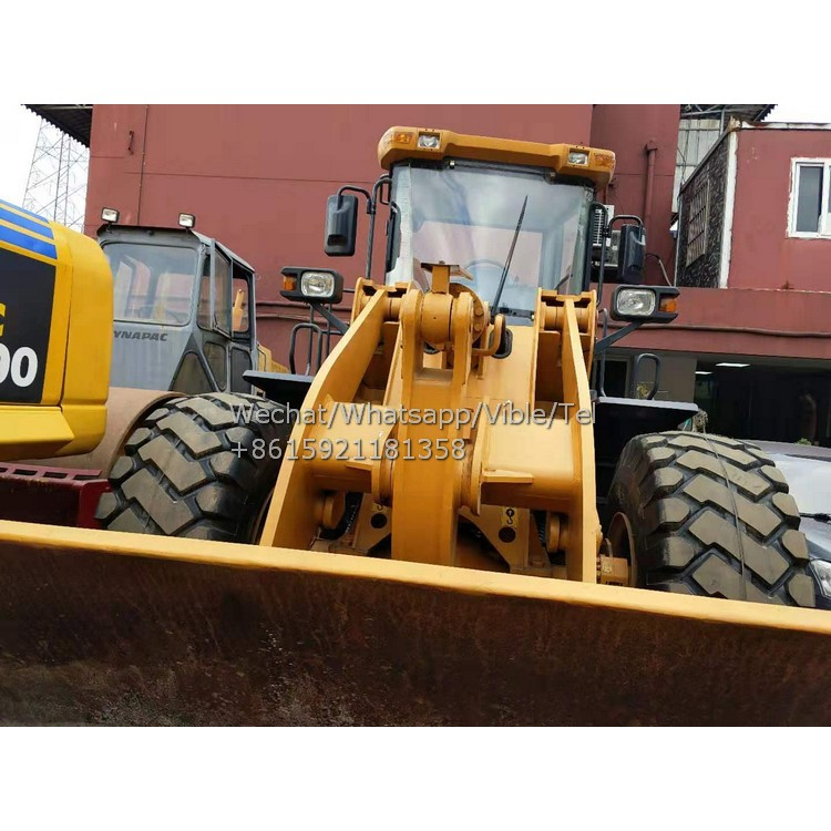 Hot Sell Lonking LG855D Loader, Used Lonking LG856D LG820D LG855D 5 TONS Front Loader To Africa