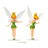 (Factory price) 6pcs/set tinker bell Fort Night Figure toy PVC Action Figures for cake toppers Model Toys for kids