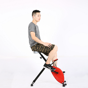 NEW Design Indoor Magnetic Upright Exercise Bike Workout Machine with Adjustable Resistance