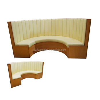 stand de restaurant canap tissu canap incurv yk7026 - Canape Courbe