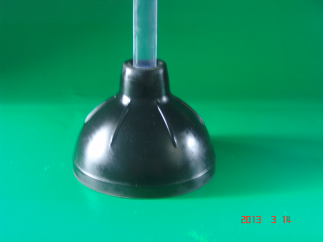 2014 manufacturer of toilet plunger with sstands/rubber bathroom accessory