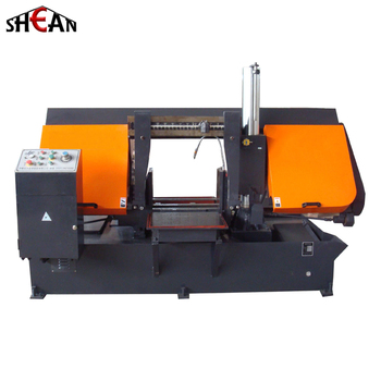 GZ4240 Horizontal Semi-Automatic Metal Cutting Band Saw Machine