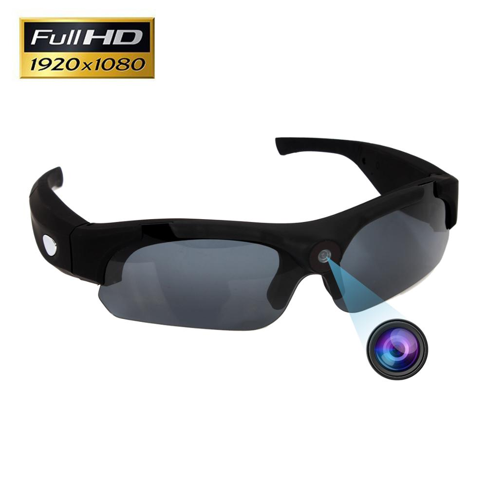 Wholesale Eye Glass Hidden Wide Angle Camera Outdoor Bluetooth Sport Sun Glasses Spy Camera Hidden фото