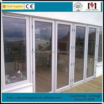 Aluminum Doors And Windows Designs Accessories12mm Tempered Glass