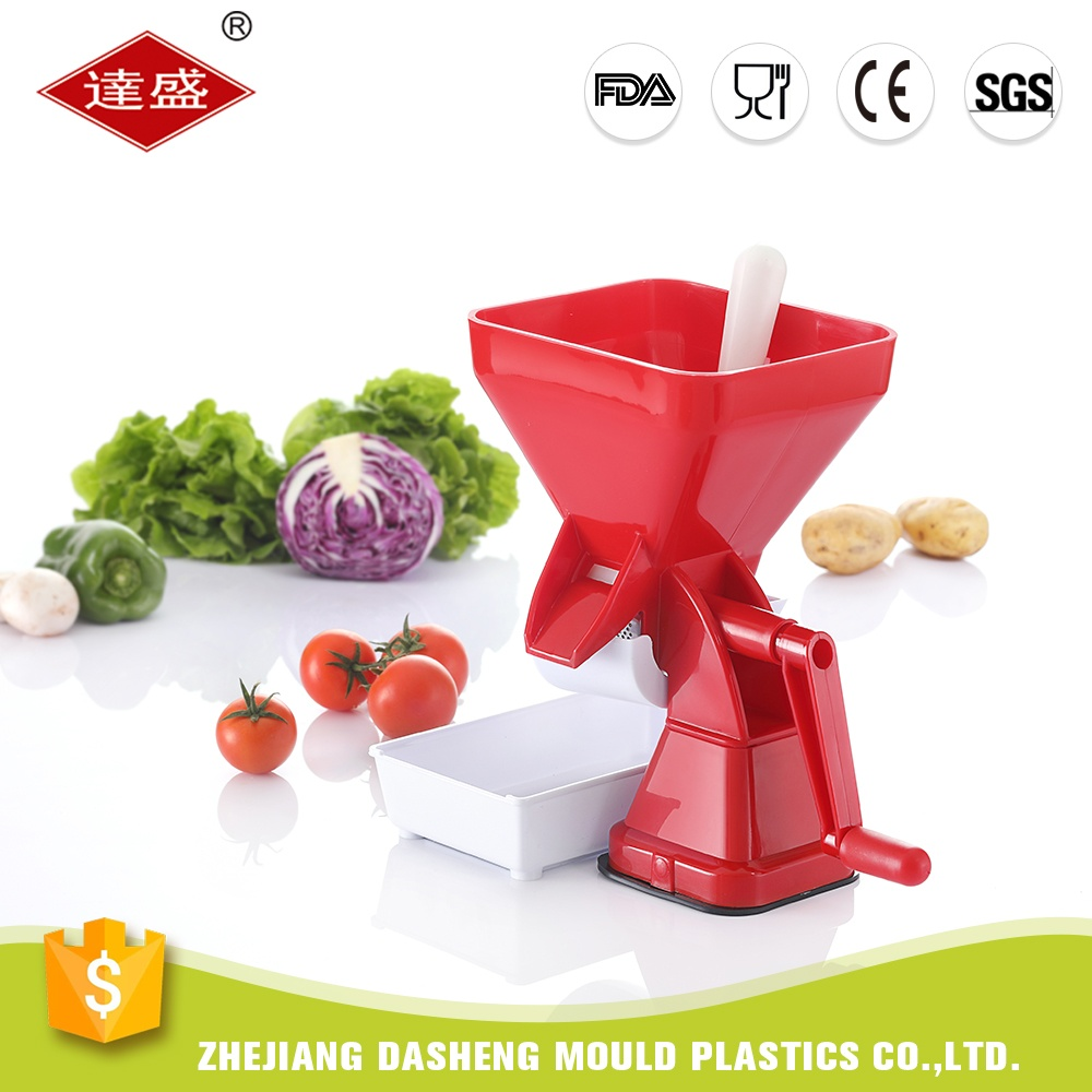 Top manufacturer competitive price plastic manual squeezer tomato sauce maker