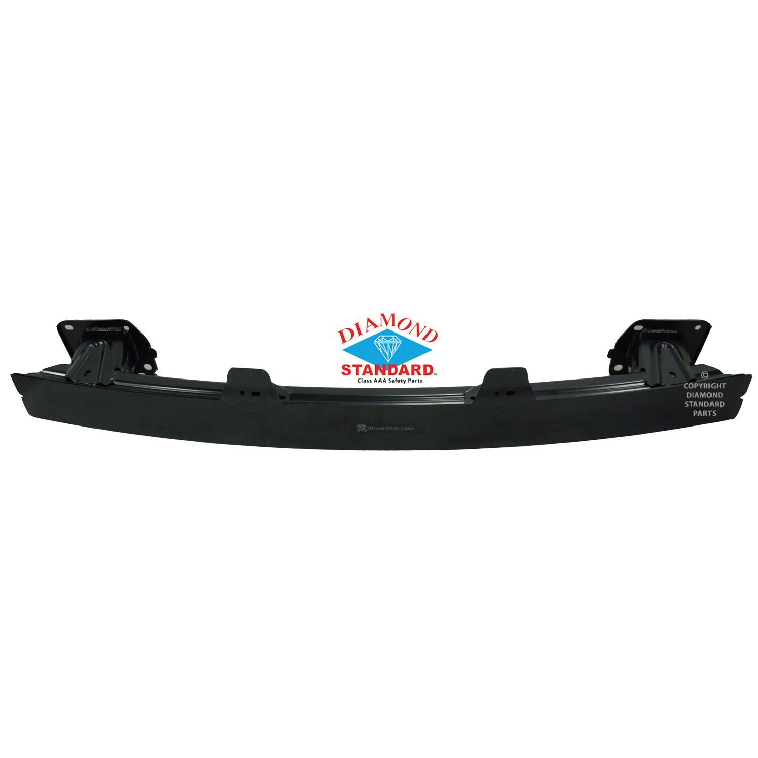 Paint To Match NSF FO1106357 Rear Bumper Reinforcement for 12-14 Ford Focus