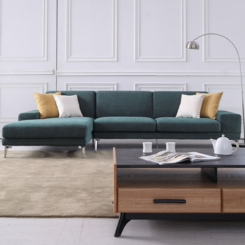 New Green Fabric Sofa Modern Style