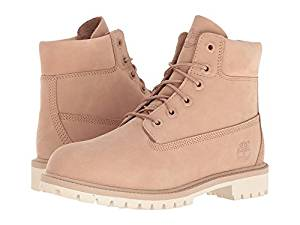 9bc833b1fb56 Timberland Kids 6 Premium Waterproof Boot Big Kid Croissant Waterbuck Girls  Shoes