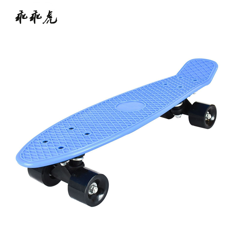 2016 news fashion style wholesale factory plastic skateboard for adults blank skateboard decks for trucks