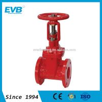 DIN PN16 rising stem gate valve