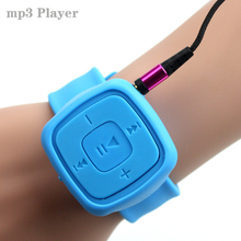 Hot Sell Gift Sport Mini watches Mp3 Player Portable Music Player With Micro TF Card Slot (MP3 ONLY) Can Use As USB Flash Dish