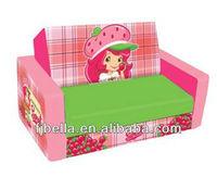 Strawberry Shortcake Naturally Sweet Kids Flip Open Folding Sofa ...