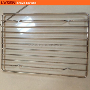 stainless steel rectangular wire pizza cooling rack