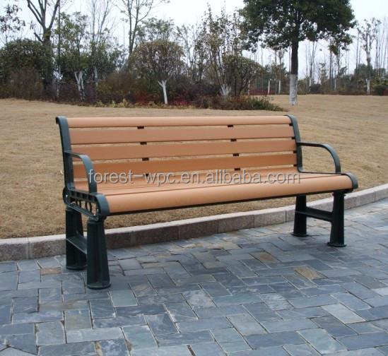 Al aire libre barato banco de parque partes barato sillas para la decoraci n del jard n al aire - Banco jardin barato ...