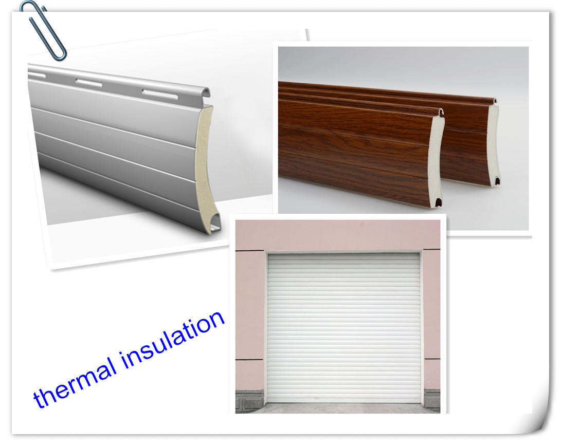 Electric automatic Aluminum awning  Roller  Shutter roll up windows