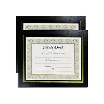 85 X 11 Leather Grain Certificate Frame Diploma Holder Buy 85